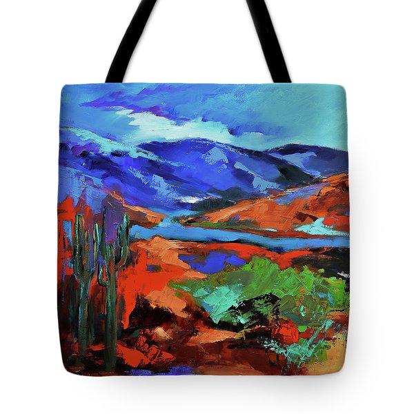 Along The Trail - Arizona Tote Bag