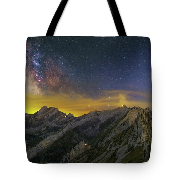 Alpstein Nights Tote Bag