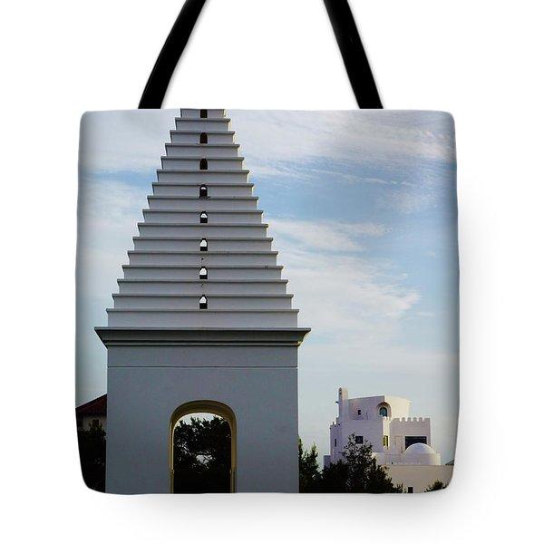Alys Beach Landmark Tote Bag