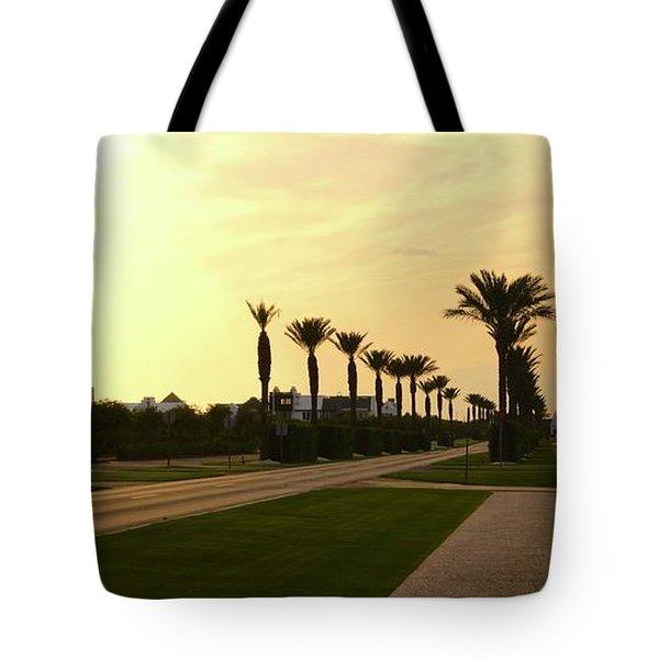 Alys Beach Sunset Tote Bag