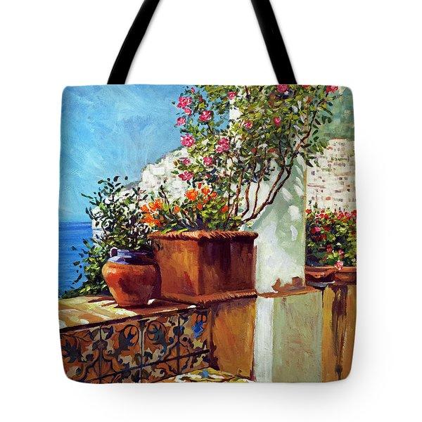 Amalfi Coast Impressions Tote Bag