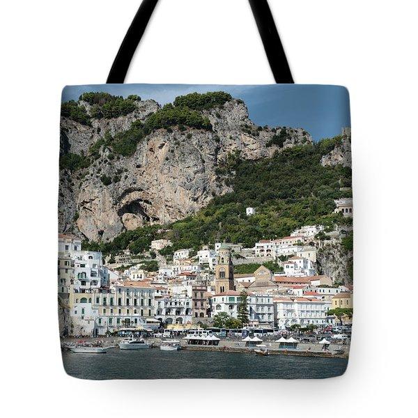 Amalfi Port Tote Bag