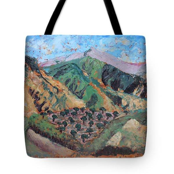 Amanda's Canigou Tote Bag