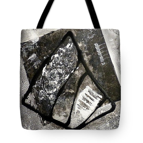 Tote Bag featuring the painting Amarok by 'REA' Gallery