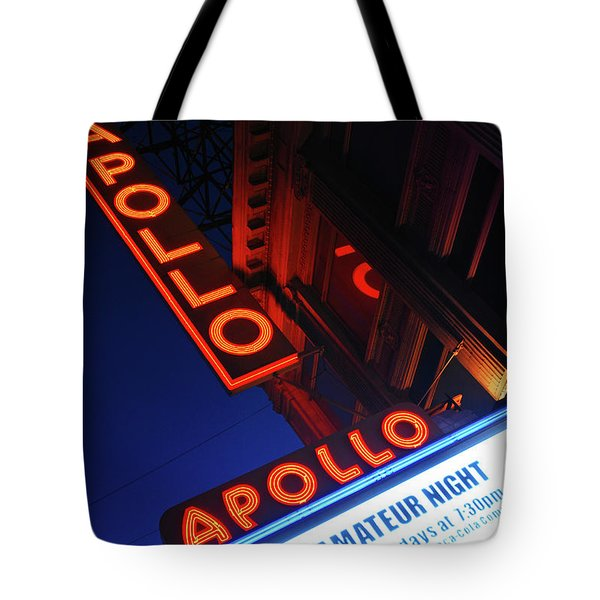 Amateur Night, Apollo Theatre Tote Bag