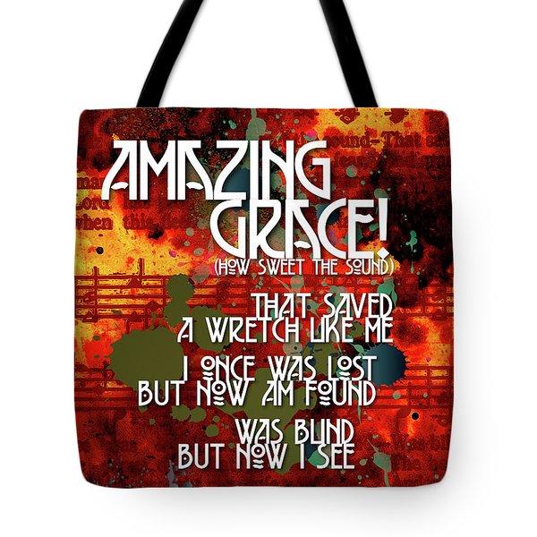 Amazing Grace Tote Bag