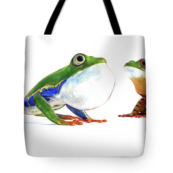 Amazon Frog Friends Tote Bag