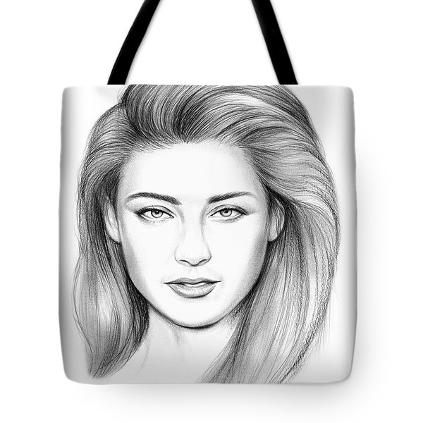 Amber Heard Tote Bag