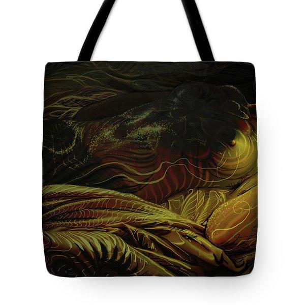 Amber Light Tote Bag
