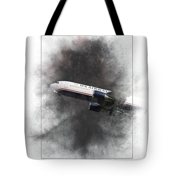 American Airlines Boeing 767-200 Painting Tote Bag