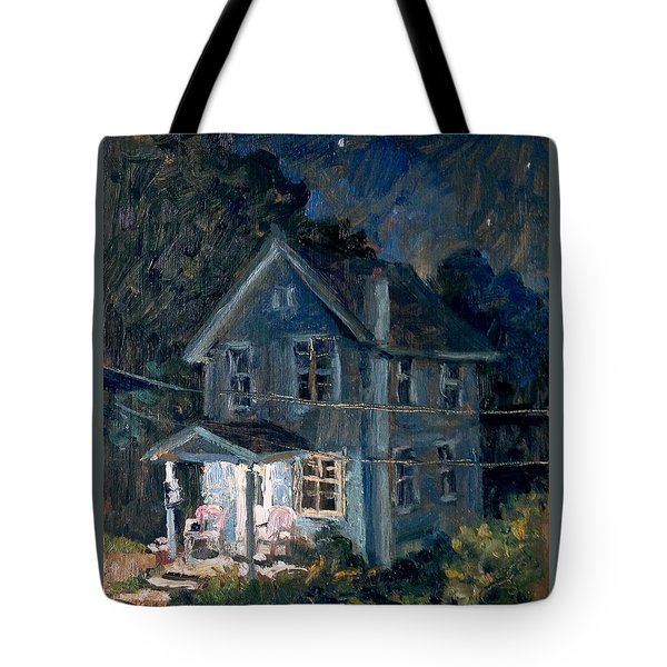 American Front Porch Nocturne Tote Bag