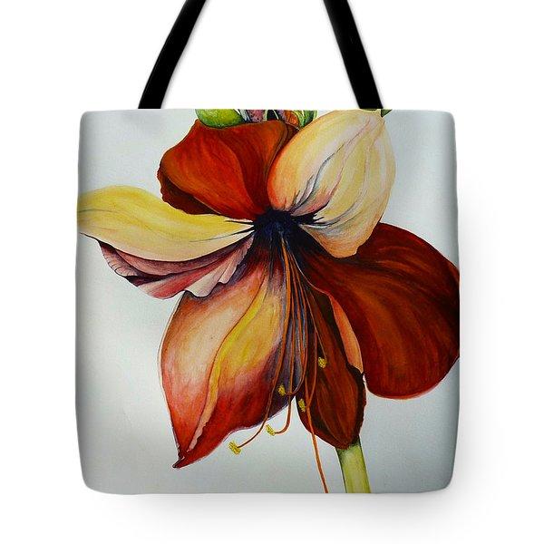 Amerylis/amaryllis  Tote Bag