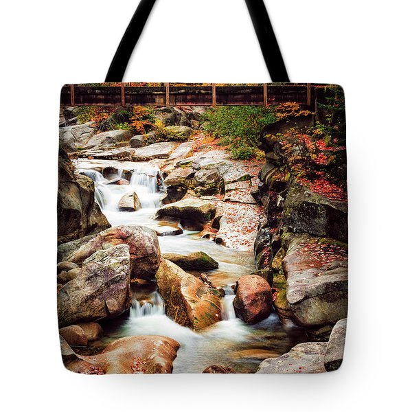 Ammonoosuc River, Autumn Tote Bag