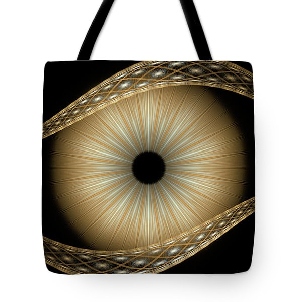 Tote Bag featuring the digital art Amos by Missy Gainer
