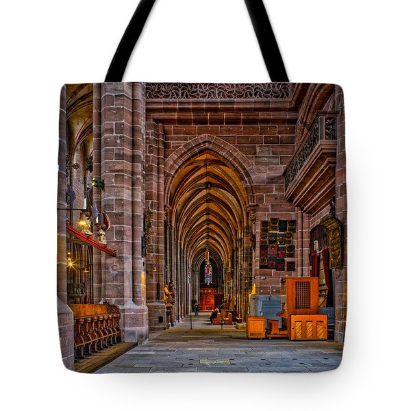 Amped Up Arches Tote Bag