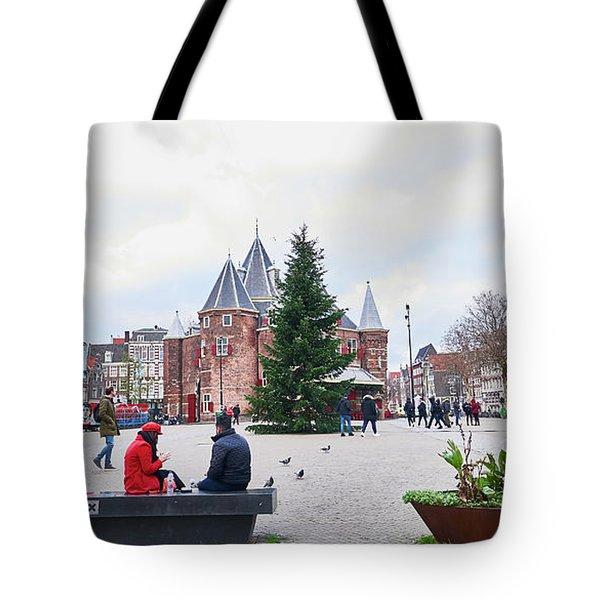 Amsterdam Christmas Tote Bag
