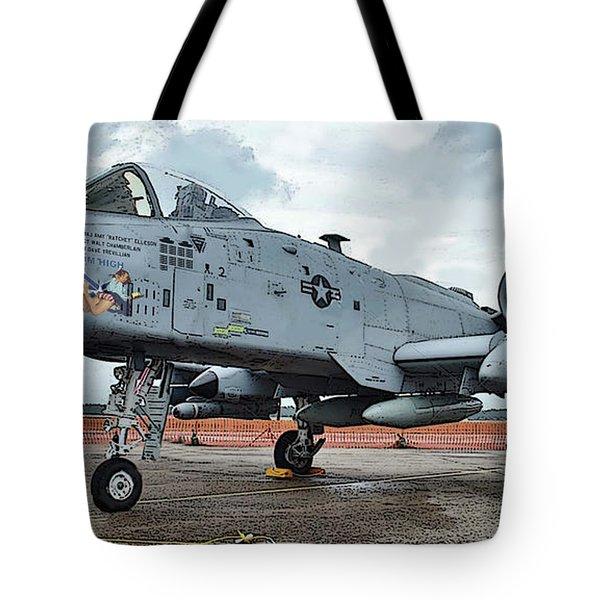 Amy's Warthog Tote Bag