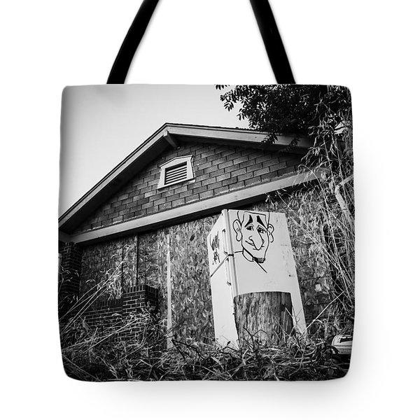 An Abandoned Home With A Personality  Tote Bag