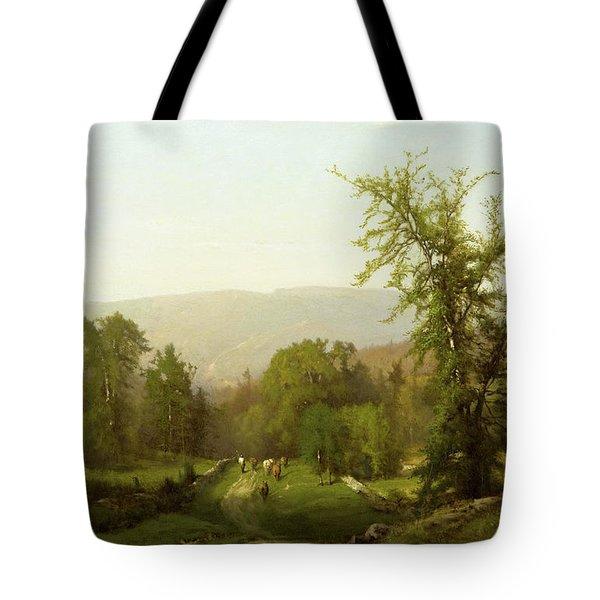 An Adirondack Pastorale Tote Bag