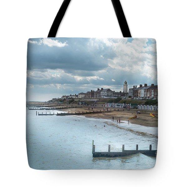 An English Beach Tote Bag