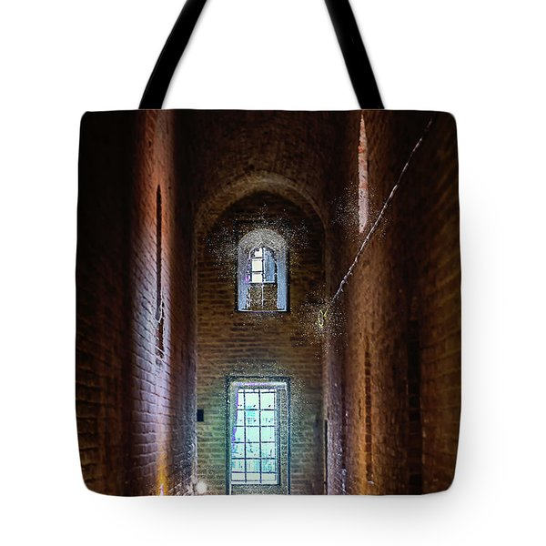 An Entrance To The Casemates Of The Medieval Castle Tote Bag