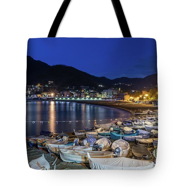 An Evening In Levanto Tote Bag