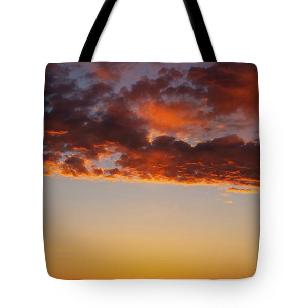 An Oklahoma Sunsrise Tote Bag