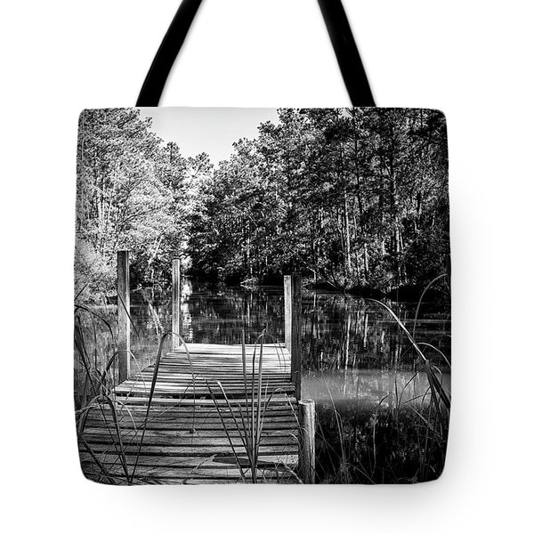 An Old Dock Tote Bag
