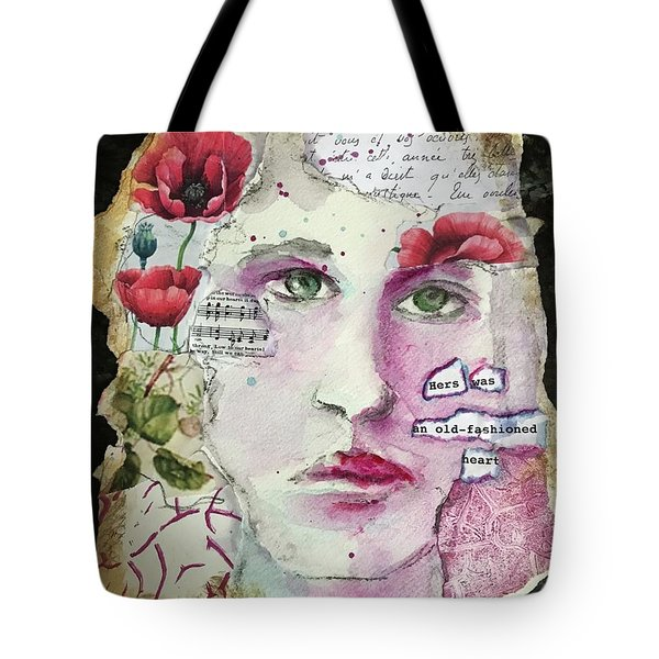 An Old-fashioned Heart Tote Bag