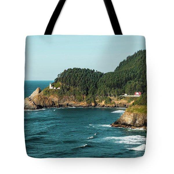 An Oregon Lighthouse Tote Bag