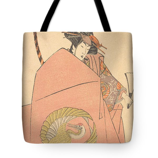 An Unidentified Actor In The Onna Shibaraku Act Tote Bag