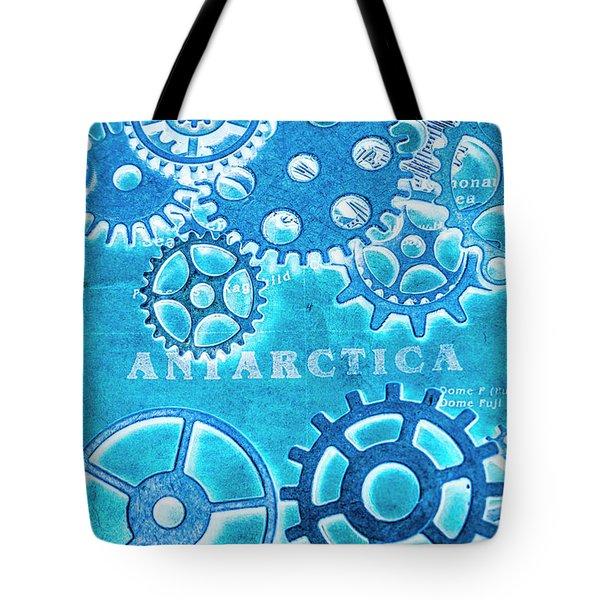 Ancient Antarctic Technology Tote Bag