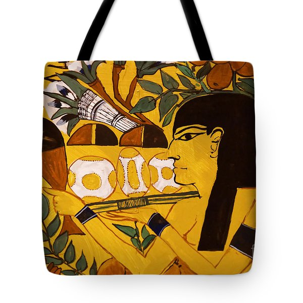 Tote Bag featuring the photograph Ancient Egypt Man by Sue Harper