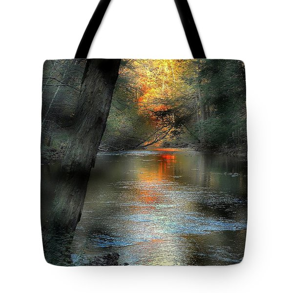 And Autumn Comes  Tote Bag