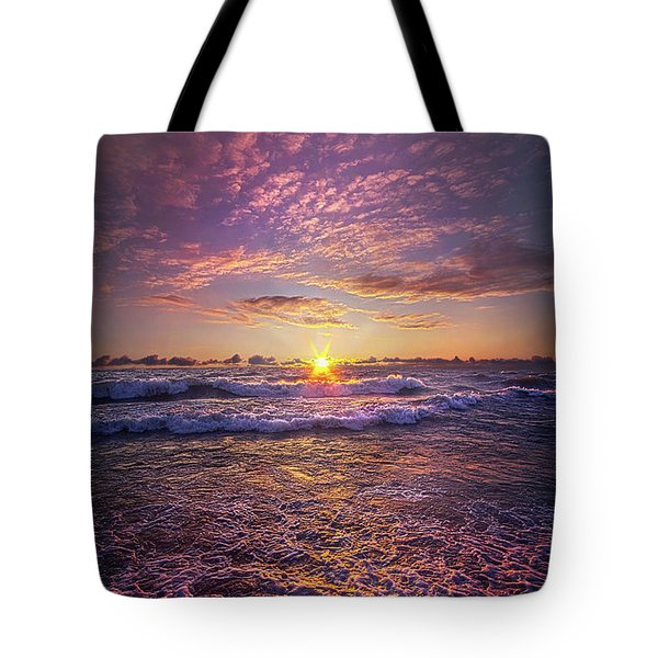 Tote Bag featuring the photograph And Then Begin Again by Phil Koch