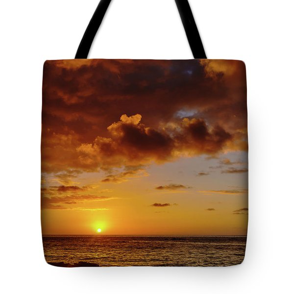 And Then The Sun Set Tote Bag