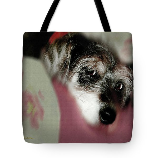 And This Is Sparky6 Tote Bag