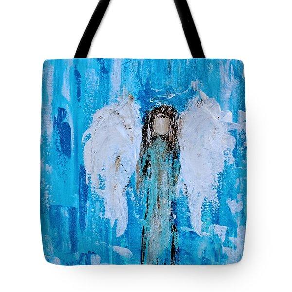 Angel Among Angels Tote Bag