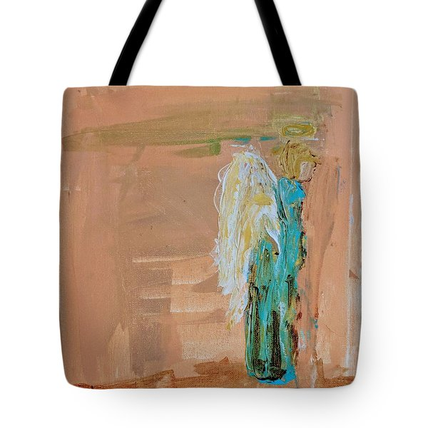 Angel Boy In Time Out  Tote Bag