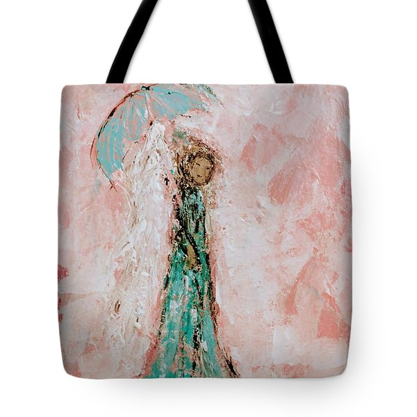 Angel By Your Side Tote Bag