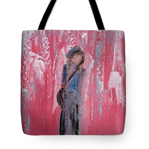 Angel For Peer Pressure Tote Bag