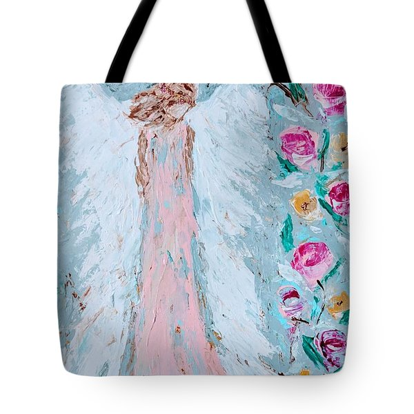 Angel For Childbirth And Tote Bag