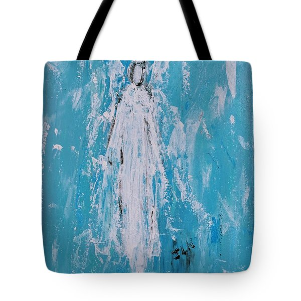 Angel For Grievance Tote Bag