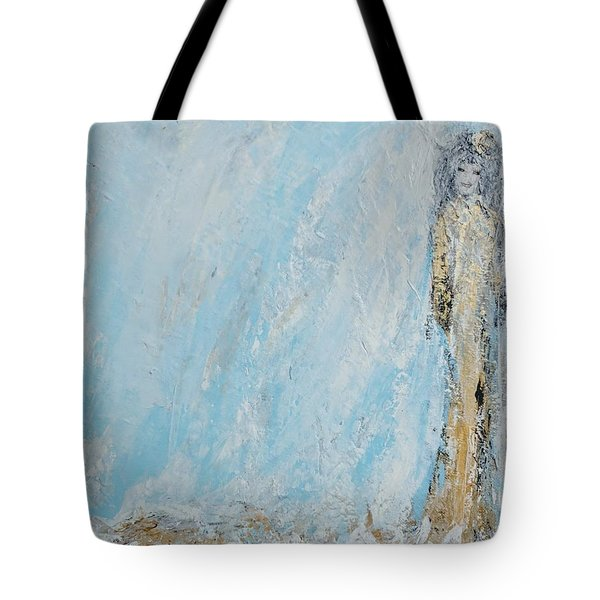 Angel For The New Year Tote Bag