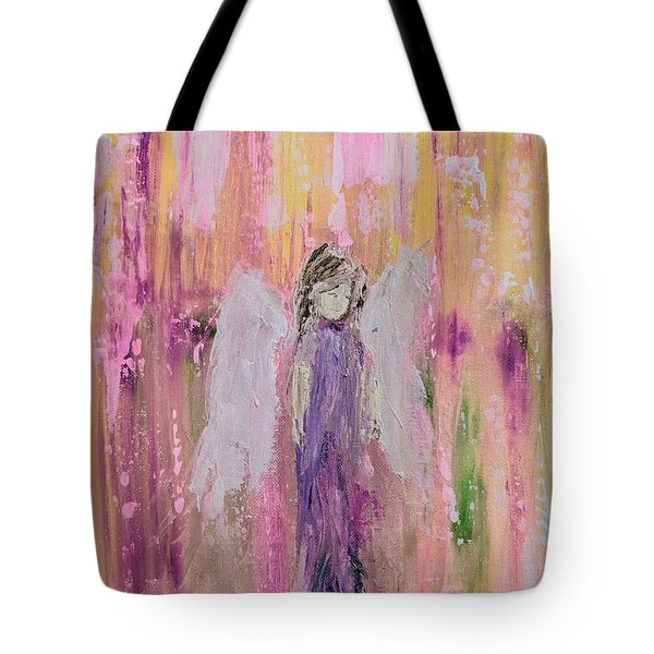 Angel In  Paradise Tote Bag