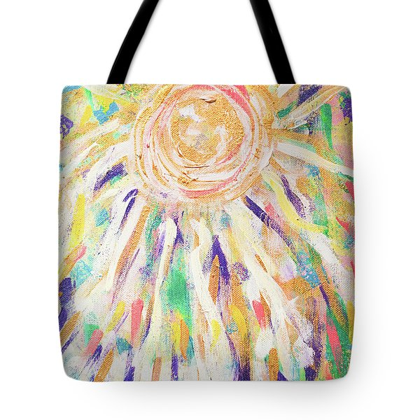 Angel In The Garden Tote Bag