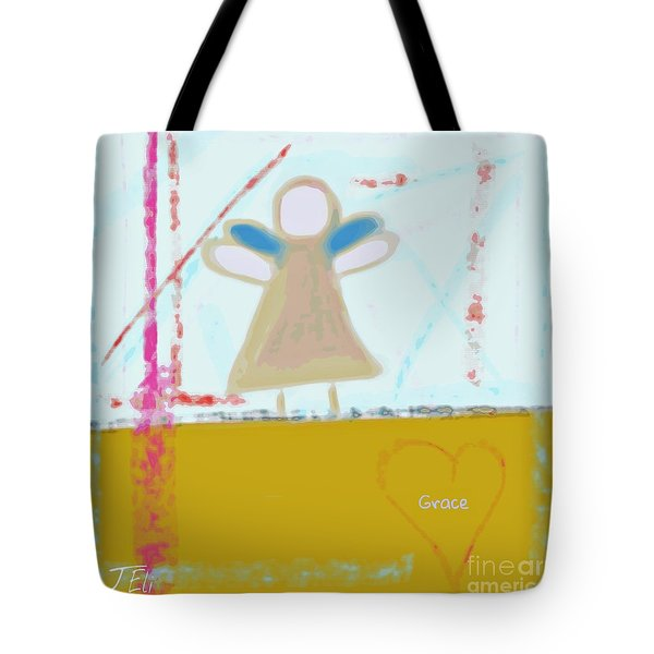 Angel Of Grace Tote Bag