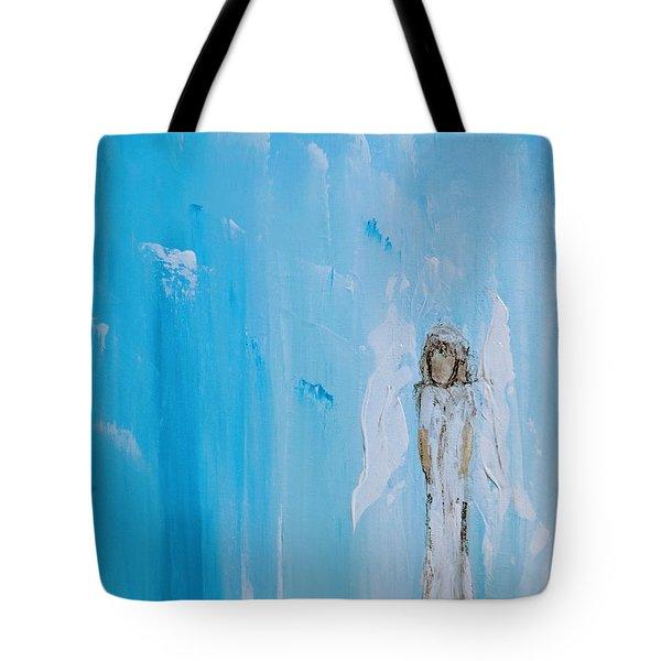 Angel Of Simplicity Tote Bag