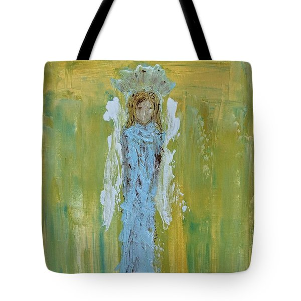 Angel Of Vision Tote Bag