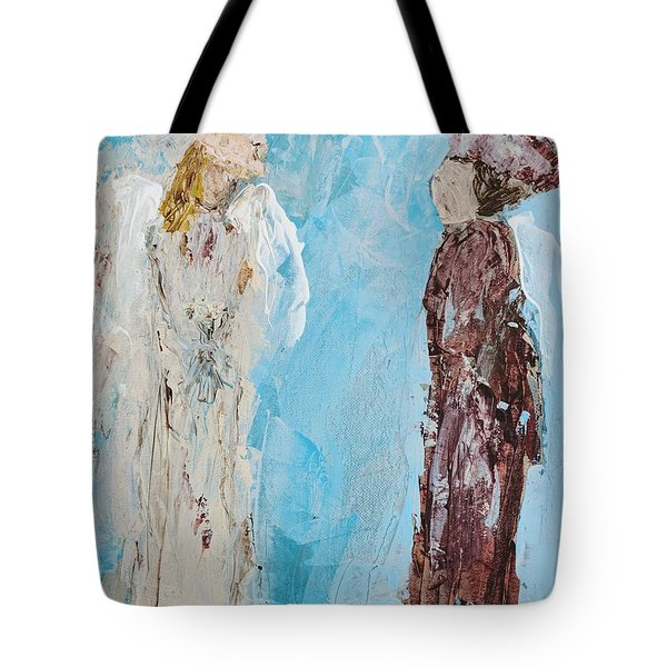 Angel Of Wisdom Tote Bag
